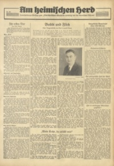 Am Heimischen Herd, 1936, Jg. 109, Nr. 301