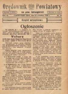 Orędownik Powiatowy na Powiat Tarnogórski, 1935, R. 9, nr39