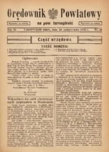 Orędownik Powiatowy na Powiat Tarnogórski, 1935, R. 9, nr43