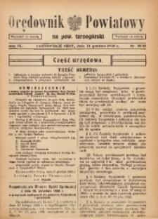 Orędownik Powiatowy na Powiat Tarnogórski, 1935, R. 9, nr50/51