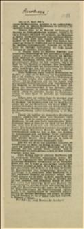 Tekst rezolucji z dnia 26.04.1908 r. przeciw reformie prawa wyborczego do Sejmu Krajowego w 1905 r.