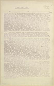 Projekt rezolucji protestującej przeciw wprowadzaniu reformy prawa wyborczego i gminnego w 1908 r.