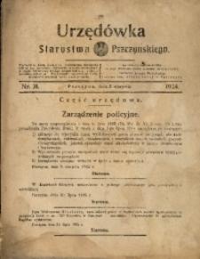 Urzędówka Starostwa Pszczyńskiego, 1924, nr31