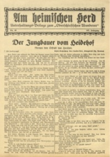 Am Heimischen Herd, 1935, Jg. 107, Nr. 49