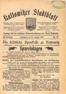 Kattowitzer Stadtblatt, 1910, Jg. 3, nr12
