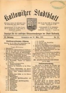 Kattowitzer Stadtblatt, 1910, Jg. 3, nr23