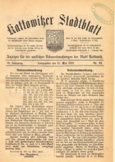 Kattowitzer Stadtblatt, 1910, Jg. 3, nr38