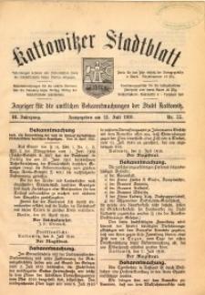 Kattowitzer Stadtblatt, 1910, Jg. 3, nr55