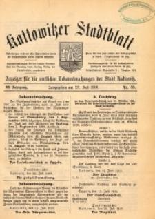 Kattowitzer Stadtblatt, 1910, Jg. 3, nr59