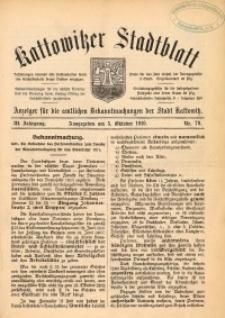 Kattowitzer Stadtblatt, 1910, Jg. 3, nr79