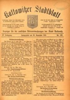 Kattowitzer Stadtblatt, 1911, Jg. 4, nr100