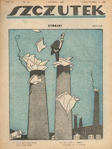Szczutek, 1920, R. 3, nr 15
