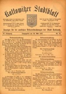 Kattowitzer Stadtblatt, 1911, Jg. 4, nr41