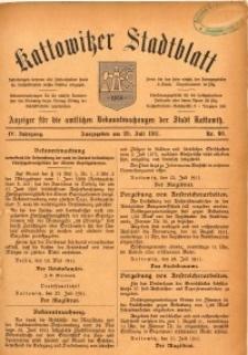 Kattowitzer Stadtblatt, 1911, Jg. 4, nr60