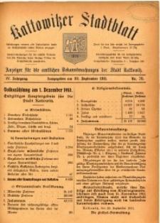 Kattowitzer Stadtblatt, 1911, Jg. 4, nr78