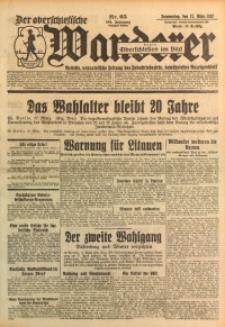 Der Oberschlesische Wanderer, 1932, Jg. 104, Nr. 65