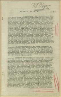 Tekst przemówienia przedstawiający w Sejmie Śląskim preliminarz budżetowy Rady Wojewódzkiej na rok 1928/1929