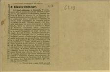 Pismo o zebraniu politycznym dotyczącym współpracy z Rządem na terenie ziemii cieszyńskiej, zorganizowanym w Cieszynie w dniu 27.01.1929 r.
