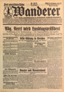 Der Oberschlesische Wanderer, 1932, Jg. 105, Nr. 120/121