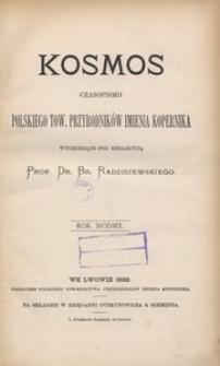 Kosmos, 1882, R. 7