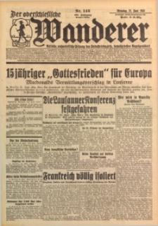 Der Oberschlesische Wanderer, 1932, Jg. 105, Nr. 143