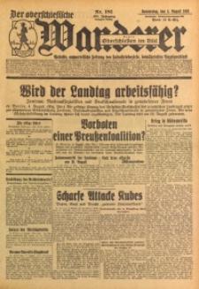 Der Oberschlesische Wanderer, 1932, Jg. 105, Nr. 181