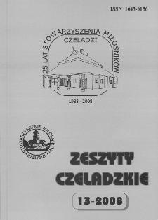 Zeszyty Czeladzkie. Z. 13