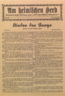 Am Heimischen Herd, 1932, Jg. 104, Nr. 66