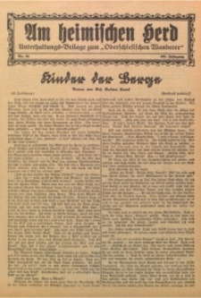 Am Heimischen Herd, 1932, Jg. 105, Nr. 84