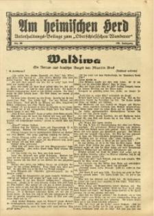 Am Heimischen Herd, 1934, Jg. 106, Nr. 38