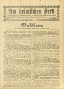 Am Heimischen Herd, 1934, Jg. 106, Nr. 51