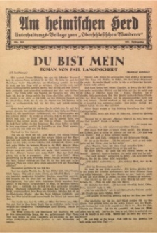 Am Heimischen Herd, 1932, Jg. 105, Nr. 211