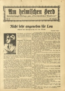 Am Heimischen Herd, 1934, Jg. 106, Nr. 61