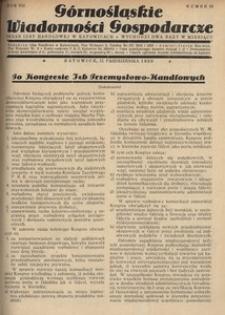 Górnośląskie Wiadomości Gospodarcze, 1930, R. 7, nr 19