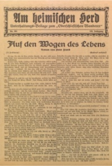 Am Heimischen Herd, 1932, Jg. 105, Nr. 253