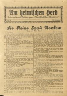 Am Heimischen Herd, 1931, Jg. 103, Nr. 24