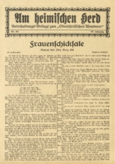 Am Heimischen Herd, 1934, Jg. 107, Nr. 213