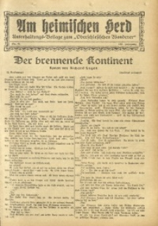 Am Heimischen Herd, 1931, Jg. 103, Nr. 41