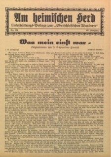Am Heimischen Herd, 1934, Jg. 107, Nr. 233