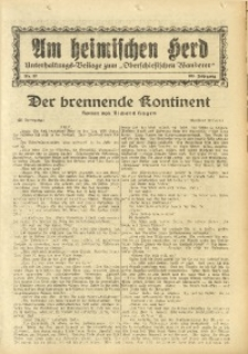 Am Heimischen Herd, 1931, Jg. 103, Nr. 57