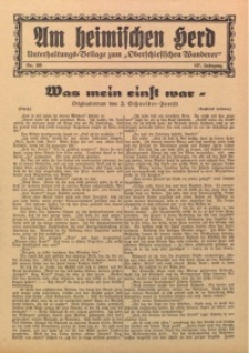 Am Heimischen Herd, 1934, Jg. 107, Nr. 265