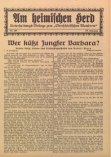 Am Heimischen Herd, 1934, Jg. 107, Nr. 269