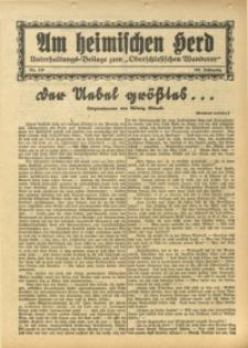 Am Heimischen Herd, 1931, Jg. 104, Nr. 136