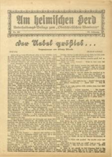 Am Heimischen Herd, 1931, Jg. 104, Nr. 152