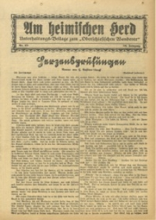 Am Heimischen Herd, 1931, Jg. 104, Nr. 173