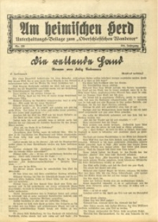 Am Heimischen Herd, 1931, Jg. 104, Nr. 220