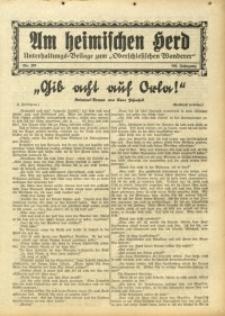 Am Heimischen Herd, 1931, Jg. 104, Nr. 270