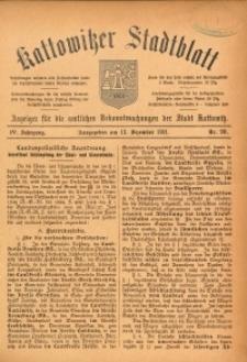 Kattowitzer Stadtblatt, 1911, Jg. 4, nr99