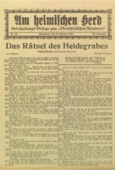 Am Heimischen Herd, 1927, Jg. 99, Nr. 35