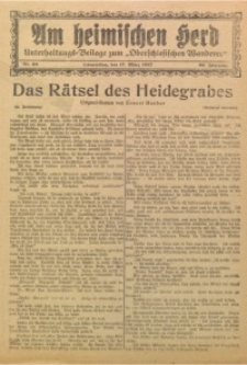 Am Heimischen Herd, 1927, Jg. 99, Nr. 63